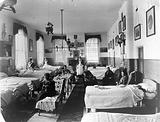 Ward for women, a mental hosptial in Britain