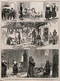 Serbo-Turkish War: series of sketches including the convalescent hospital, the Chapel at Lazare and prisoners of war