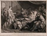 Erasistratus, a physician, realising that Antiochus's (son of Seleucus I) illness is lovesickness for his stepmother …
