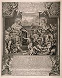 Saint Cosmas and Saint Damian tending the frail and the sick