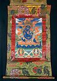 The three Buddhist deities Vajrapāṇi, Mañjuśrī and Avalokiteśvara