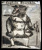 A monkey dressed up like a gentleman
