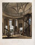 Astronomy: interior of the Radcliffe Observatory, Oxford
