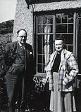William Paterson Hay Lightbody and Mrs WPH Lightbody (?)