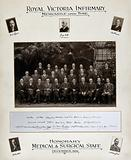 Royal Victoria Infirmary, Newcastle-upon-Tyne: honorary medical and surgical staff