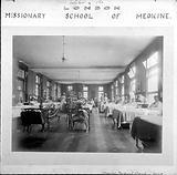 London Missionary School of Medicine: women's medical ward or Quin ward