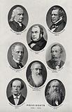 Royal Microscopical Society Presidents, 1858–1878: eight portraits