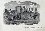 The New-York State Asylum for Idiots, Syracuse