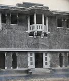 Lady Hardinge Medical College and Hospital, Delhi: the entrance to the college from inside