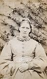 Mary Shaw, a patient at the West Riding Lunatic Asylum, Wakefield, Yorkshire