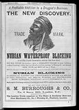 Advert for Nubian Blacking, Chem & Drg