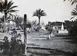 Tel-el-Kebir, Egypt: a military cemetery: war graves of soldiers killed in action during the British defeat of the …