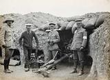 Gallipoli, Turkey: an Australian and New Zealand Army Corps (ANZAC) trench