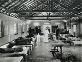 Bombay plague epidemic, 1896–1897: interior of a plague hospital