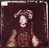 Manchu bride, Peking, Penchilie province, China