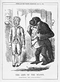 Punch, 25 May 1861, 'The Lion of the Season'