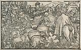 Job. Woodcut attributed to the Petrarch Master, 1539