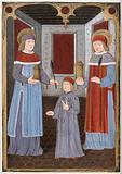 Saint Cosmas and Saint Damian with another figure