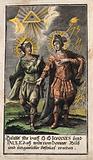 Saint John and Saint Paul as protectors against storm, thunder and lightning