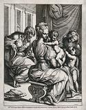 Saint Mary (the Blessed Virgin) and Saint Joseph with the Christ Child, Saint John the Baptist and Saint Elisabeth