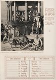 Lazarus's sores are licked by dogs as Dives feasts