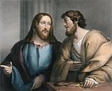 Jesus calls Matthew away from his vocation as a tax collector
