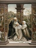 Saint Catherine of Siena receiving the stigmata
