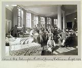 World War One: Islington Public Library used as a hospital ward