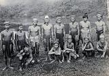 Sarawak: members of a Long Pokun tribe from the Upper Tinjar region