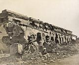 Kanpur, India: the barracks defended by Major-General Sir Hugh Massy Wheeler during the Indian mutiny, in ruins