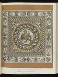 Bacchus, Roman God of wine, mosaic pavement, Roman