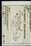 Chinese woodcut: Chin abscess