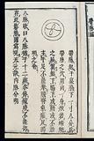 Chinese/Japanese Pulse Image chart: Belt Vessel