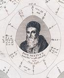 Astrological birth chart for Pope Sextus V Work ID: wh94vtgs