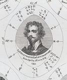 Astrological birth chart for Earl of Strafford