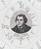 Astrological birth chart for Martin Luther