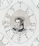 Astrological birth chart for Mary I, Queen of England