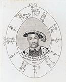 Astrological birth chart for Henry VIII, King of England