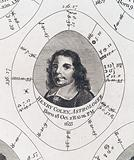 Astrological birth chart for Henry Coley, Astrologer