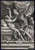 The rape of Lucretia by Tarquin