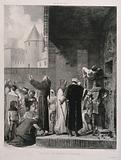 Rescue of the immured in Carcassone, France