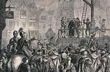 The execution of Father Garnet by hanging