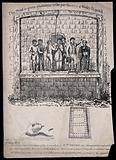 Above, the execution of William Corder by hanging in 1828