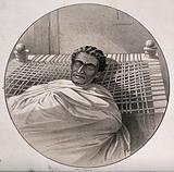 Theodore (Téwodros) II, Emperor of Ethiopia of Ethiopia, on his death bed
