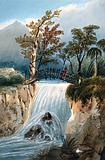 Bocanema, Colombia: a waterfall