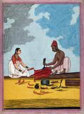 Indian cobbler and wife