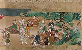 A procession of Chinese nobles