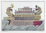 The flagship of Ptolemy Philopator
