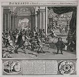 The burghers of the Dutch Republic are celebrating the death of Pope Clement XI