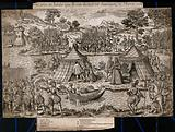 Île aux Bœufs, Loire: negotiations for the Pacification of Amboise in 1563 between the Queen Mother (regent for …